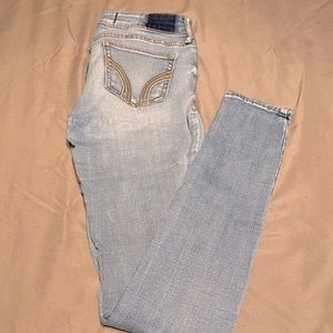 Hollister Jeans - Skinny - Low Rise - Size: 1S
